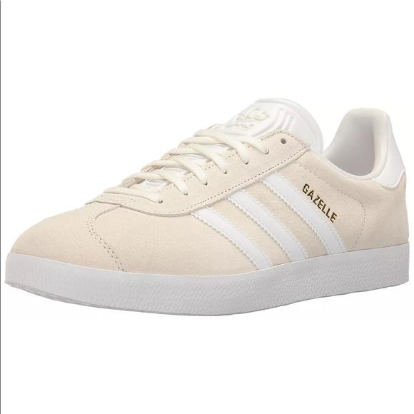 bianco e oro gazzella donne taglia 75 adidas poshmark
